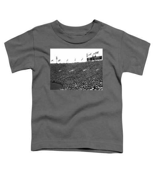 Notre Dame-usc Scoreboard Toddler T-Shirt by Underwood Archives