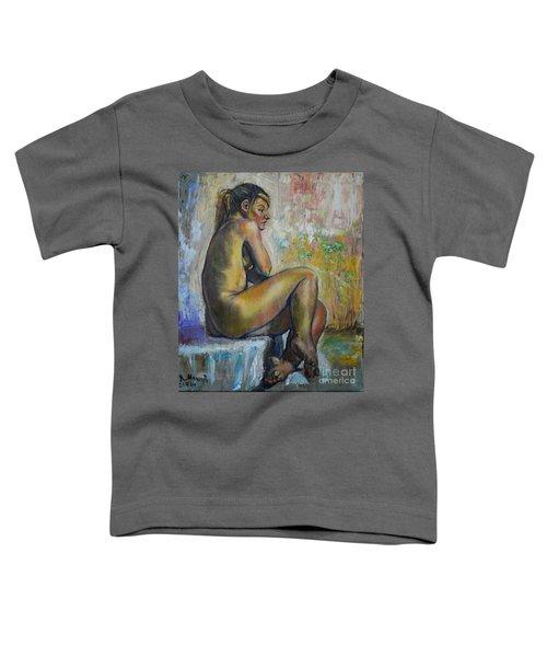 Nude Eva 1 Toddler T-Shirt