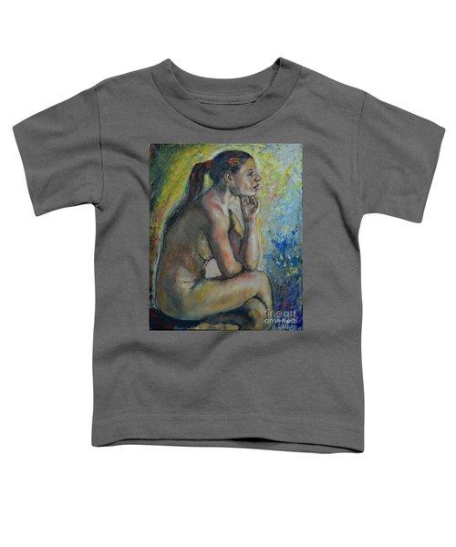 Nude Eva 2 Toddler T-Shirt