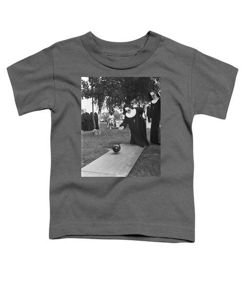 Nuns Bowling Toddler T-Shirt