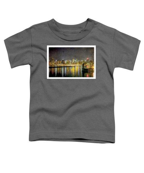Nyc At Night Toddler T-Shirt