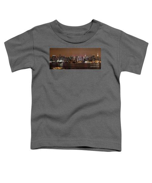 Nyc Skyline Toddler T-Shirt