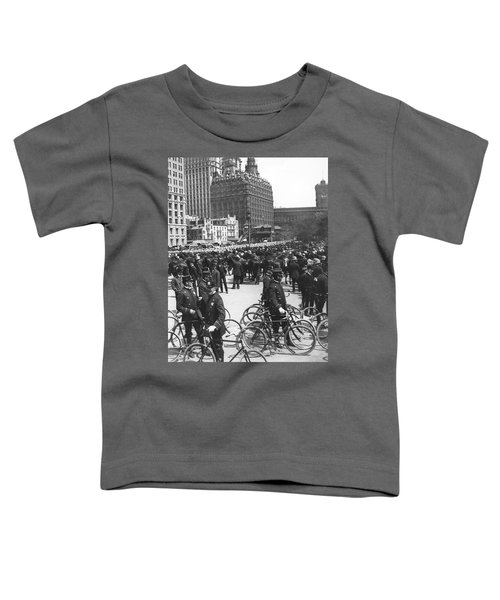 Nypd Bicycle Force Toddler T-Shirt