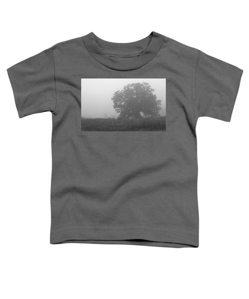 Oak In The Fog Toddler T-Shirt