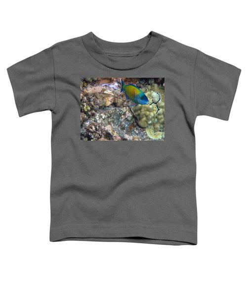 Ocean Color Toddler T-Shirt by Peggy Hughes