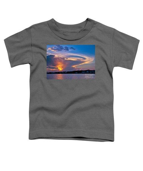 Ocean Isle Sunset Toddler T-Shirt