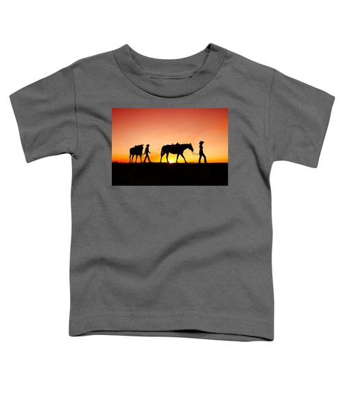 Off To The Barn Toddler T-Shirt