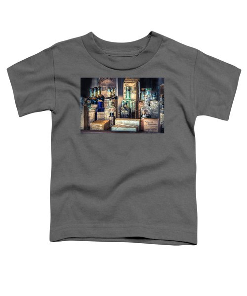 Ointments Tonics And Potions - A 19th Century Apothecary Toddler T-Shirt