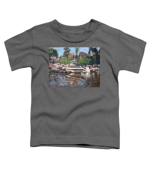 Olcott Yacht Club Toddler T-Shirt