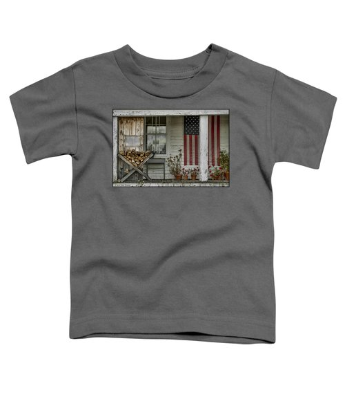 Old Apple Orchard Porch Toddler T-Shirt