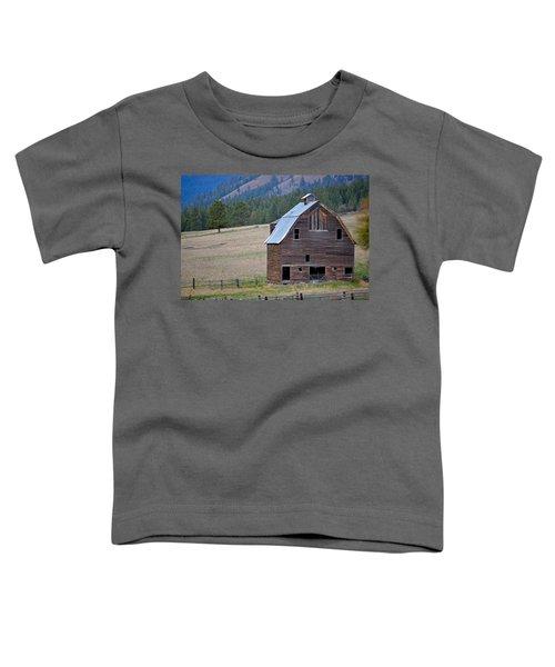 Old Barn In Washington Toddler T-Shirt