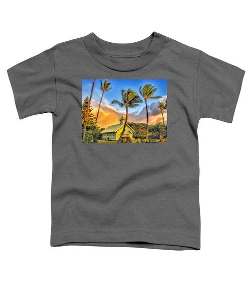 Old Church At Honokawai Maui Toddler T-Shirt