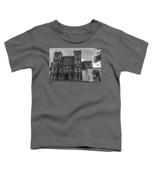 Old City Jail In Black And White Toddler T-Shirt