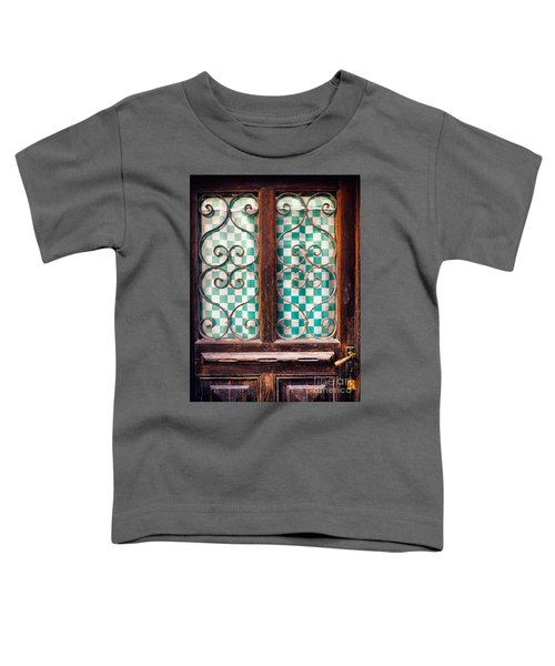 Toddler T-Shirt featuring the photograph Old Door by Silvia Ganora
