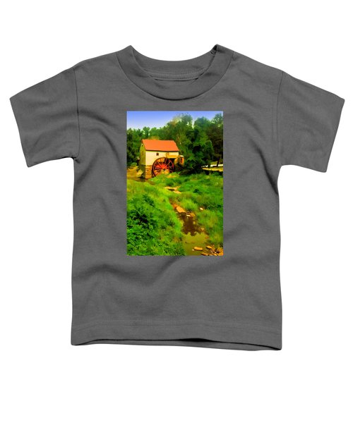 Old Mill In Springtime Toddler T-Shirt