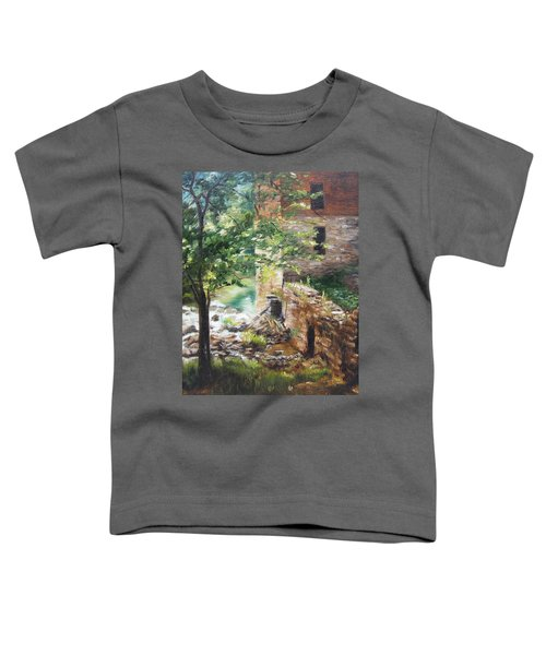 Old Mill Stream I Toddler T-Shirt