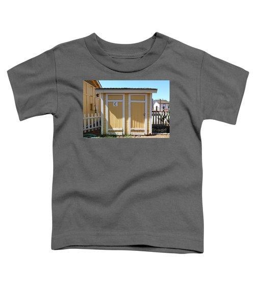 Old Sacramento California Schoolhouse Outhouse 5d25549 Toddler T-Shirt