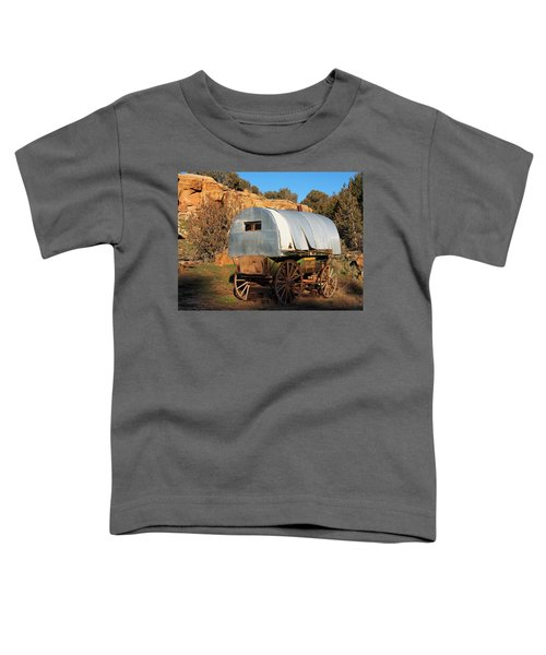 Old Sheepherder's Wagon Toddler T-Shirt