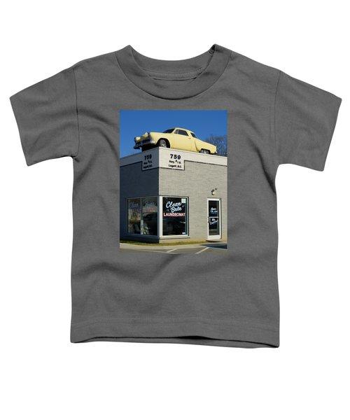 Old Studebaker Building Toddler T-Shirt