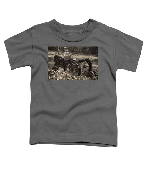 Old Tractor Toddler T-Shirt by Lynn Geoffroy