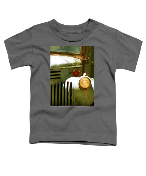 Old Truck Abstract Toddler T-Shirt