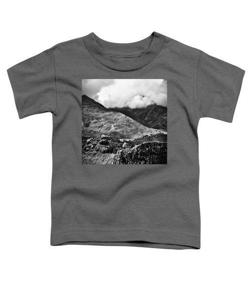 On The Mountainside Toddler T-Shirt