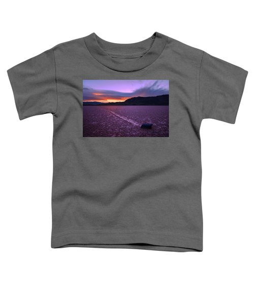 On The Playa Toddler T-Shirt by Chad Dutson