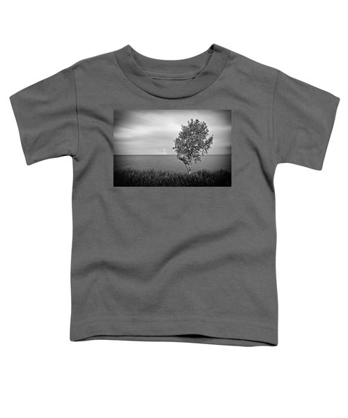 Toddler T-Shirt featuring the photograph One On One  by Doug Gibbons