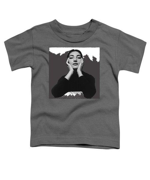 Opera Singer Maria Callas Cecil Beaton Photo No Date-2010 Toddler T-Shirt