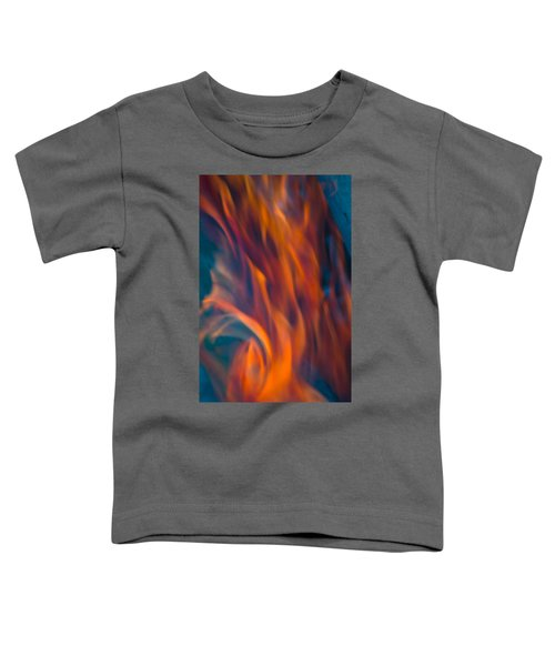 Orange Fire Toddler T-Shirt