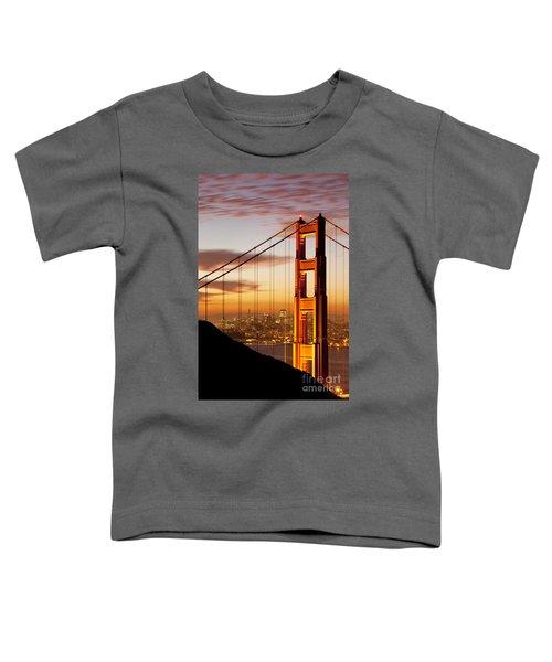 Orange Light At Dawn Toddler T-Shirt