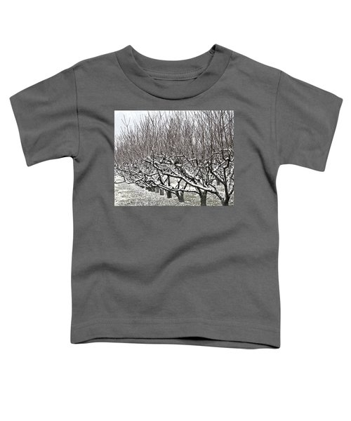 Orchard In Winter Toddler T-Shirt
