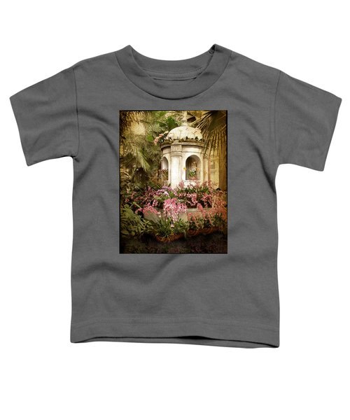 Orchid Exhibition Toddler T-Shirt