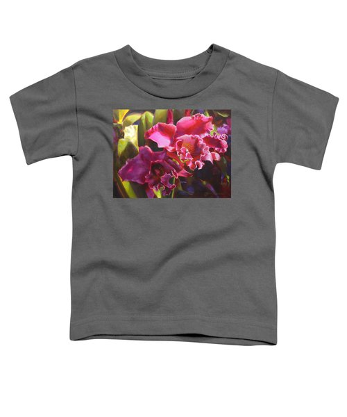 Orchids In Magenta Toddler T-Shirt