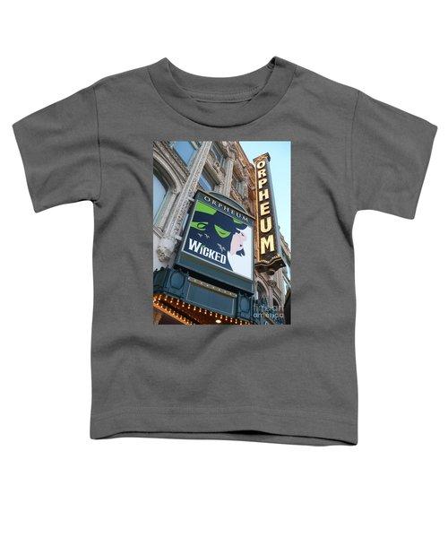 Orpheum Sign Toddler T-Shirt
