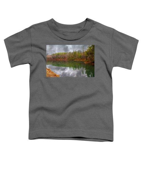 Otter Lake Reflections Toddler T-Shirt