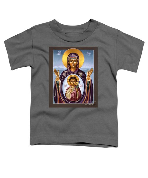 Our Lady Of The New Advent Gate Of Heaven 003 Toddler T-Shirt
