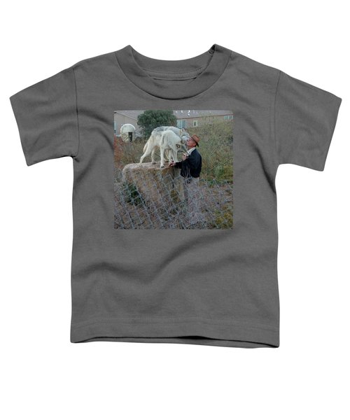 Out Of Africa  Friendly Wolves Toddler T-Shirt