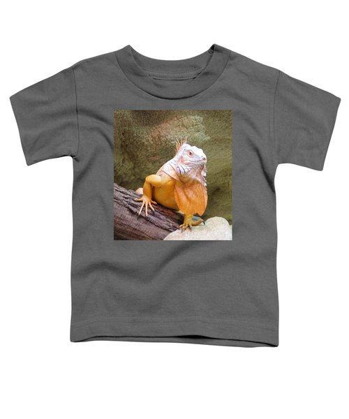 Out Of Africa Orange Lizard 1 Toddler T-Shirt