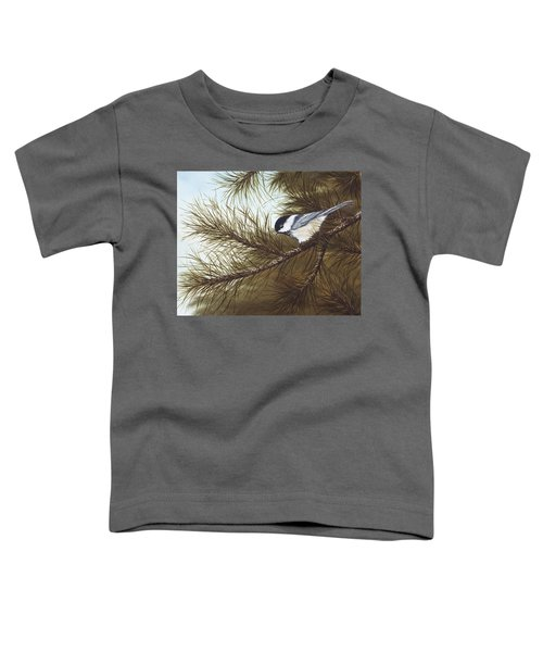 Out On A Limb Toddler T-Shirt by Rick Bainbridge