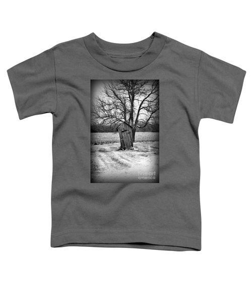 Outhouse In The Snow Toddler T-Shirt
