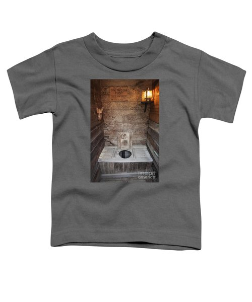 Outhouse Interior Toddler T-Shirt