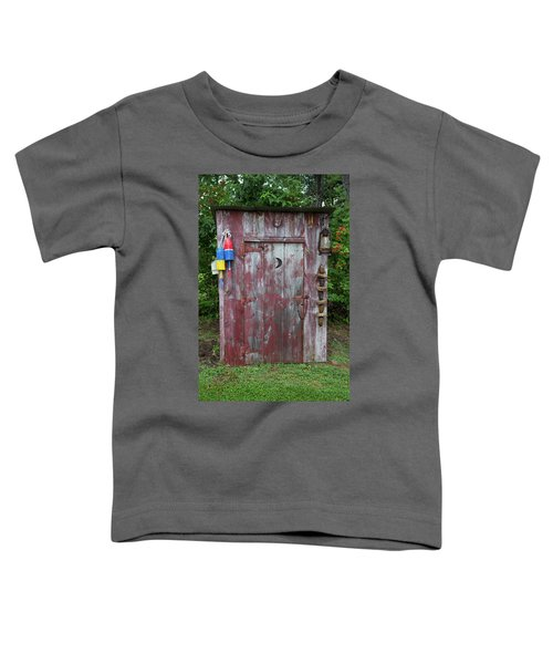 Outhouse Shed In A Garden, Marion Toddler T-Shirt