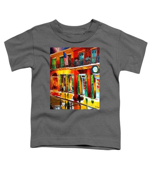 Outside Pat O'brien's Bar Toddler T-Shirt