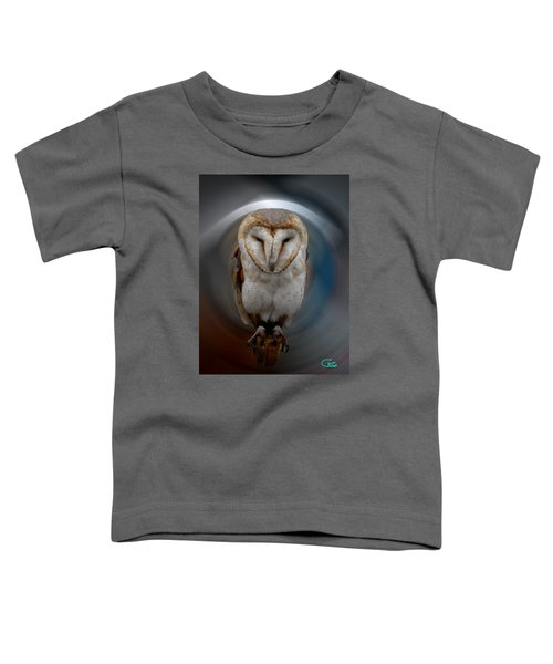 Toddler T-Shirt featuring the photograph Owl Alba  Spain  by Colette V Hera  Guggenheim