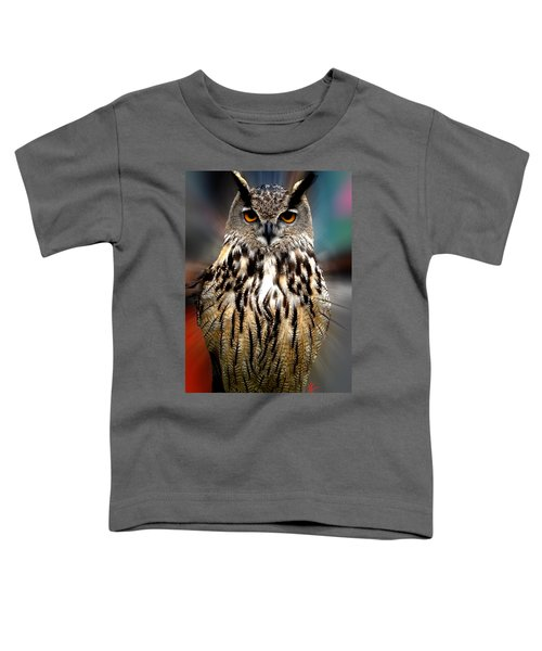 Owl Living In The Spanish Mountains Toddler T-Shirt