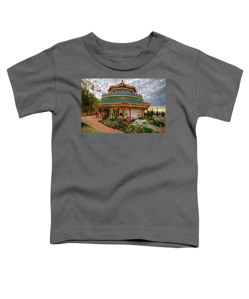 Pagoda In Norfolk Virginia Toddler T-Shirt