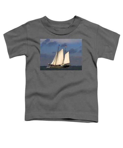 Paint Sail Toddler T-Shirt