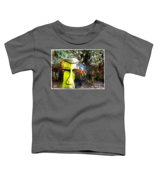 Painted Bullfinch S3 Toddler T-Shirt