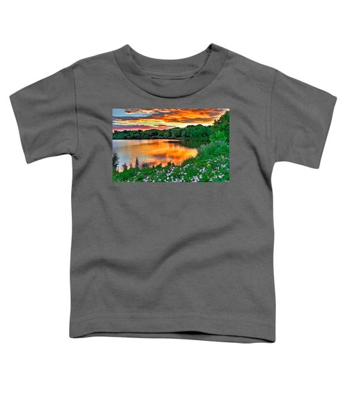 Painted Sunset Toddler T-Shirt